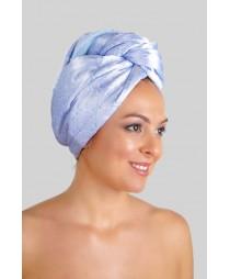 Кърпа за коса Сини цветя